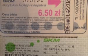 Cena biletu ta sama, ale inna taryfa i szata graficzna. Efekt: mandat