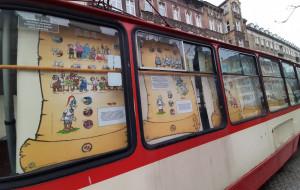 Kajko i Kokosz w... tramwaju. Niecodzienna wystawa na Dolnym Mieście