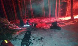 Miłośnik survivalu wezwał policję do lasu. Szukano go do nocy
