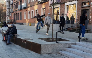 Śródmieście chce prawdziwego skateparku, a nie prowizorycznego