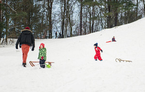 Śnieg pomógł odkryć dzieci w dorosłych