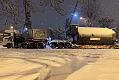 Transport ogromnych kotłów do gdańskiej elektrociepłowni