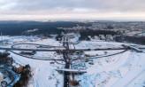 Budowa Trasy Kaszubskiej trwa mimo mrozów