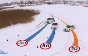 Jak jeździć po śniegu i lodzie?