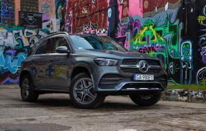 Hybrydowy Mercedes-Benz GLE przejedzie nawet 100 km na prądzie