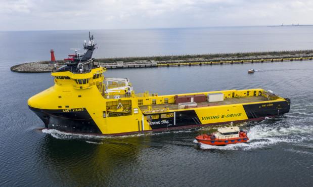 Statek Coey Viking przekazany armatorowi