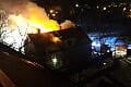 Nocny pożar pustostanu w Gdańsku