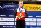 """Natalia Maliszewska wicemistrzynią Europy. Short track w hali """"Olivia"""""""