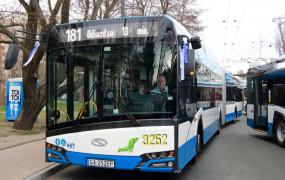 Trolejbusy zamiast autobusów na trasie z Gdyni do Sopotu