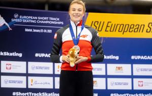 Mistrzostwa Europy w short tracku. Natalia Maliszewska srebro na 500 m
