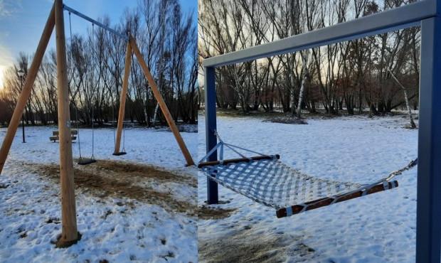 Plac zabaw dla dorosłych w parku Reagana już otwarty