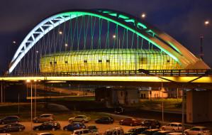 Stadion Gdańsk zaciska pasa. Rezygnuje z rzecznika, zdejmuje logo