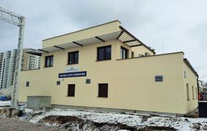 Stacja Zaspa Towarowa z nową nastawnią