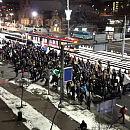 Mniej liczne protesty w Gdańsku i Gdyni