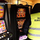 Nielegalne automaty w kafejce internetowej