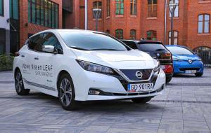Nasz czytelnik o wrażeniach jazdy elektrycznym Nissanem Leaf