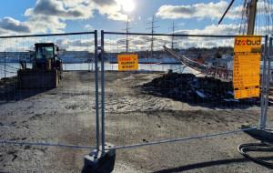 Trwa budowa pomnika Tadeusza Wendy w sercu Gdyni