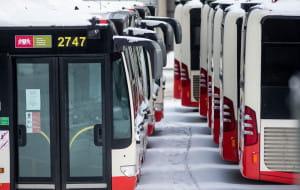 Autobusy nie kursują, bo mają za mało drzwi