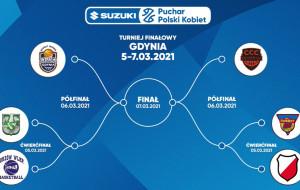 Suzuki Puchar Polski koszykarek 5-7 marca w Gdynia Arena. Wylosowano pary