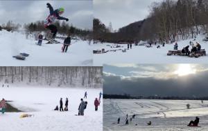 Duży mróz i śnieg zamieniły Trójmiasto w naturalny park rozrywki dla aktywnych