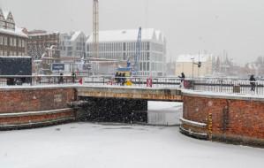 Most Stągiewny będzie zwodzony. Rusza także budowa mariny południowej