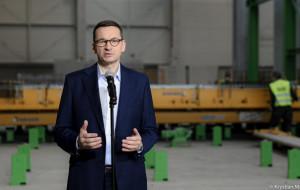 Premier Mateusz Morawiecki odwiedził gdański Pekabex