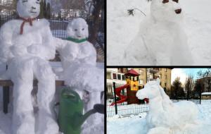 """""""Zapoluj"""" z telefonem na śniegowe rzeźby i pochwal się w Raporcie z Trójmiasta"""