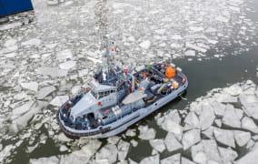 Leszko popłynął do Portu Wojennego w Gdyni
