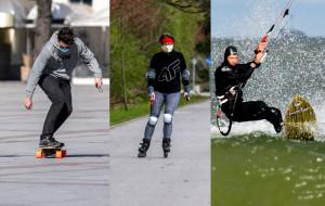 Zmiana sprzętu sportowego. Teraz czas na rolki, rowery, deskorolki...