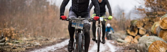 Wystartuj rowerem lub biegiem w Pomerania Winter Challenge