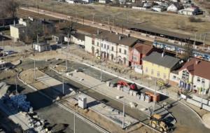 Węzeł Chylonia: trakcja, oświetlenie i parking gotowe