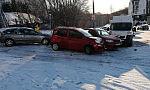 Opady śniegu utrudniły ruch w Gdyni