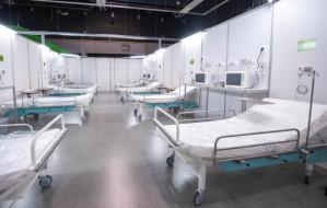 Od poniedziałku szpital w Amber Expo przyjmie pacjentów