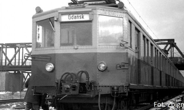 70 lat temu wyjechał pierwszy pociąg SKM