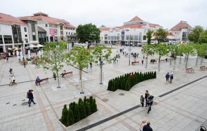Plac Przyjaciół Sopotu ożywiony