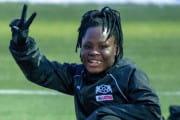 Priscilla Hagan strzeliła 2 gole dla AP Lotos Gdańsk. Debiut piłkarki z Ghany