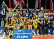 VBW Arka Gdynia - CCC Polkowice 69:65. Koszykarki zdobyły Puchar Polski