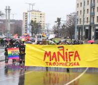 17. Manifa na Dzień Kobiet w Gdańsku