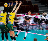 Trefl Gdańsk - Aluron CMC Warta Zawiercie 3:1. Siatkarze z numerem 3 do play-off