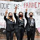 Transparent ze Strajku Kobiet trafił do Muzeum Gdańska