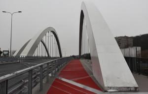 Robotnicy wrócili na budowę wiaduktu Biskupia Górka