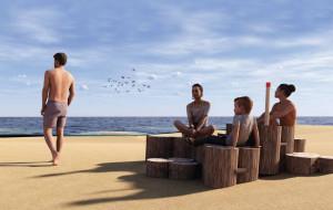 Ławeczki plażowe wybrane. Wyniki konkursu, który budził kontrowersje