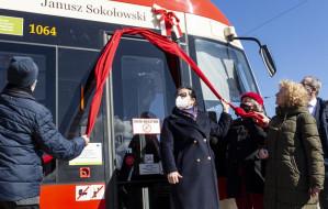 Prof. Sokołowski, pierwszy rektor UG, został patronem tramwaju