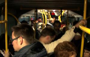 W autobusach na razie tłok, ale nadzieja jest