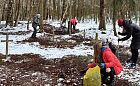 Mieszkańcy posprzątali cmentarz na górze Donas