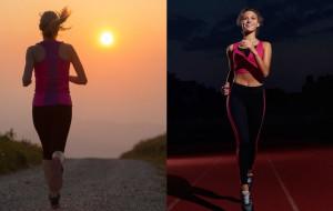 Rano czy wieczorem? Która pora dnia jest najlepsza do biegania?