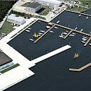 Większy port jachtowy w Górkach Zachodnich i marina w Sopocie