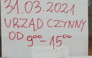 Kuriozalne skracanie godzin pracy Poczty Polskiej