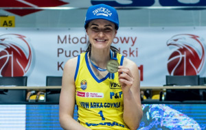 Alice Kunek Ligowcem Marca. Zadaj pytanie koszykarce VBW Arki Gdynia