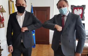 Tomasz Augustyniak zajmie się szczepieniami i szpitalami w Urzędzie Marszałkowskim